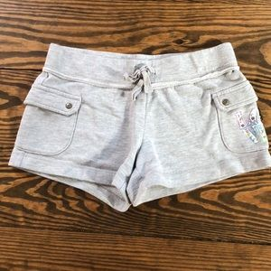 Justice great sweatpant shorts size 10